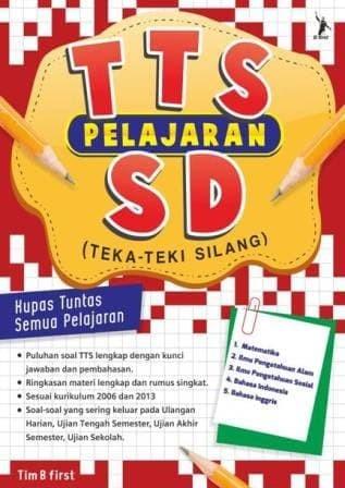 Jual Buku Murah Cepat Buku Permainan Tts Pelajaran Sd Teka Teki Silang Jakarta Selatan Hesti Oktaviani Tokopedia