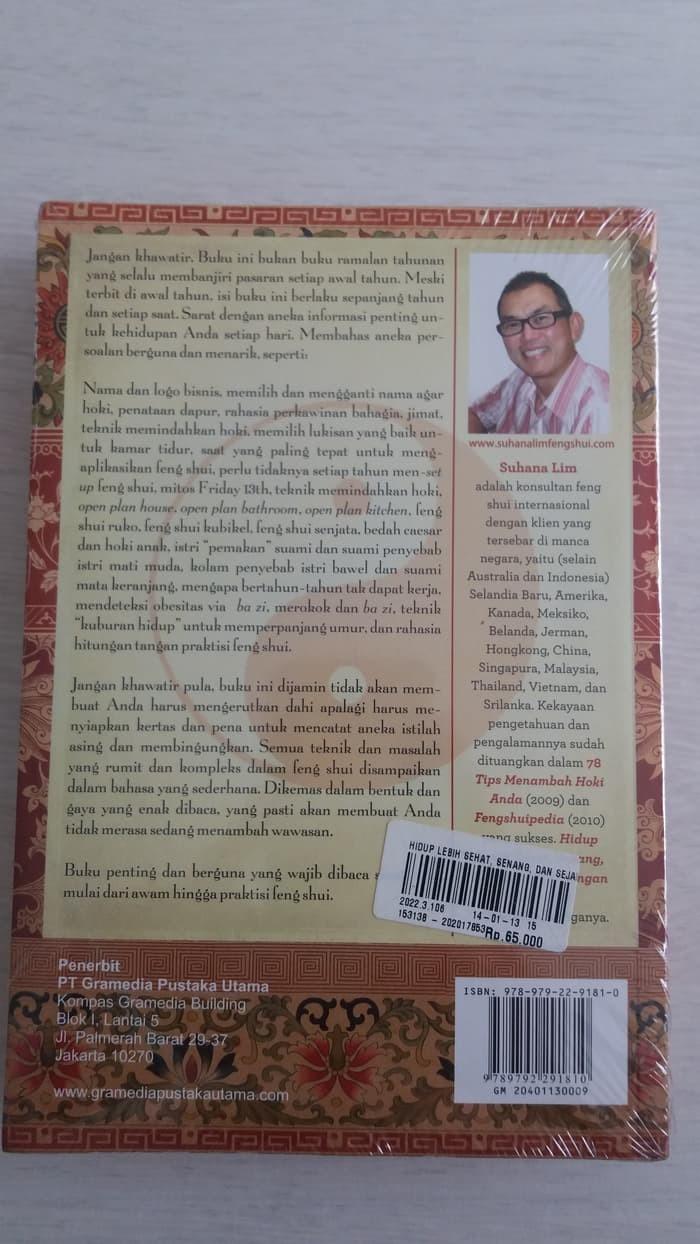 Jual Buku Terbaru HIDUP LEBIH SEHAT SENANG & SEJAHTERA DENGAN FENG Jakarta Barat WirdaNatsir