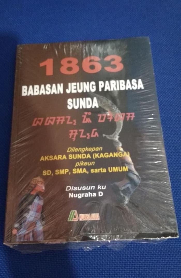 Jual Baru Buku Termurahh 1863 Babasan Jeung Paribasa Sunda Nugraha