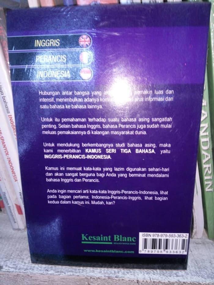 Jual Kualitas terjamin Dasar Ilmu Kamus seri tiga bahasa Inggris perancis -  Jakarta Utara - pia wibowo | Tokopedia