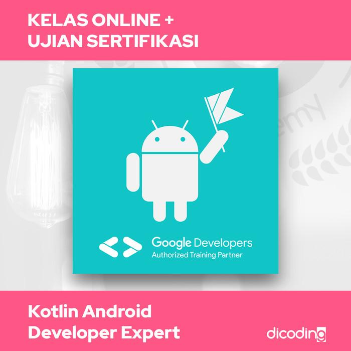 Foto Produk Kelas Academy Online Kotlin Android Developer Expert dari Dicoding Indonesia