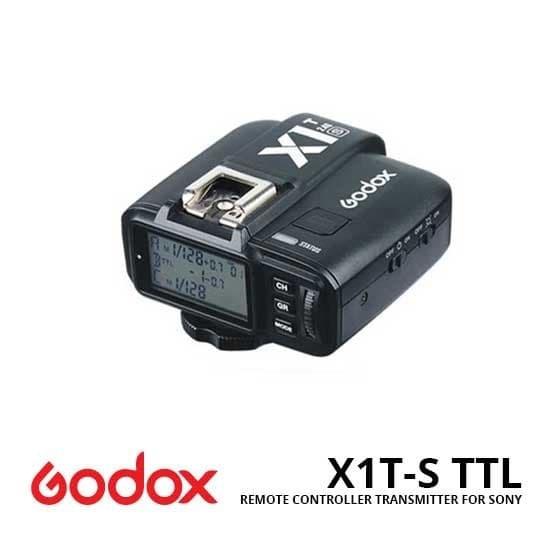 Foto Produk Transmitter Godox X1T-S TTL Remote Controller For Sony dari Grosir Aksesoris Kamera