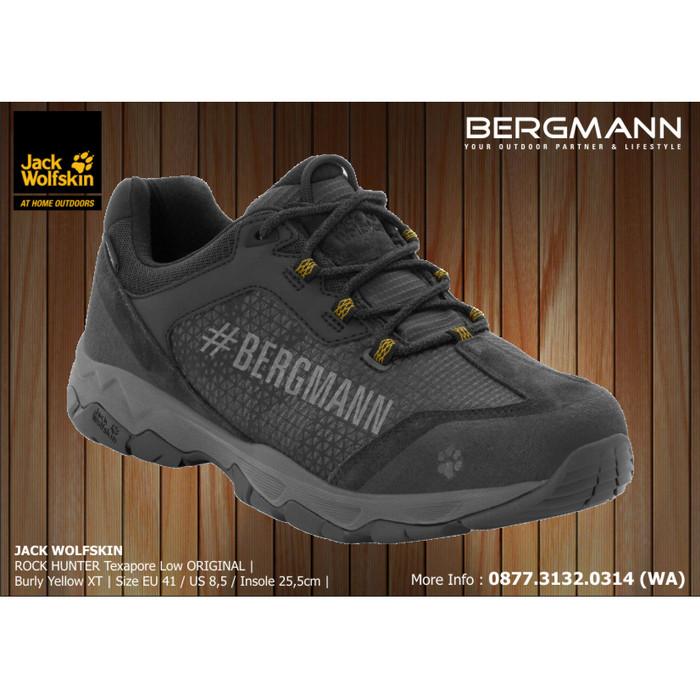 Jual Sepatu Gunung Jack Wolfskin Rock Hunter Texapore Original