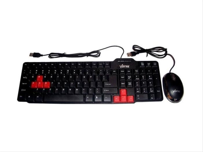 Foto Produk Votre Keyboard dan Mouse Bundle dari Hotman Pasaribu