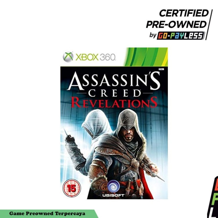 Jual Assassins Creed Revelations Game Xbox 360 Preowned Jakarta