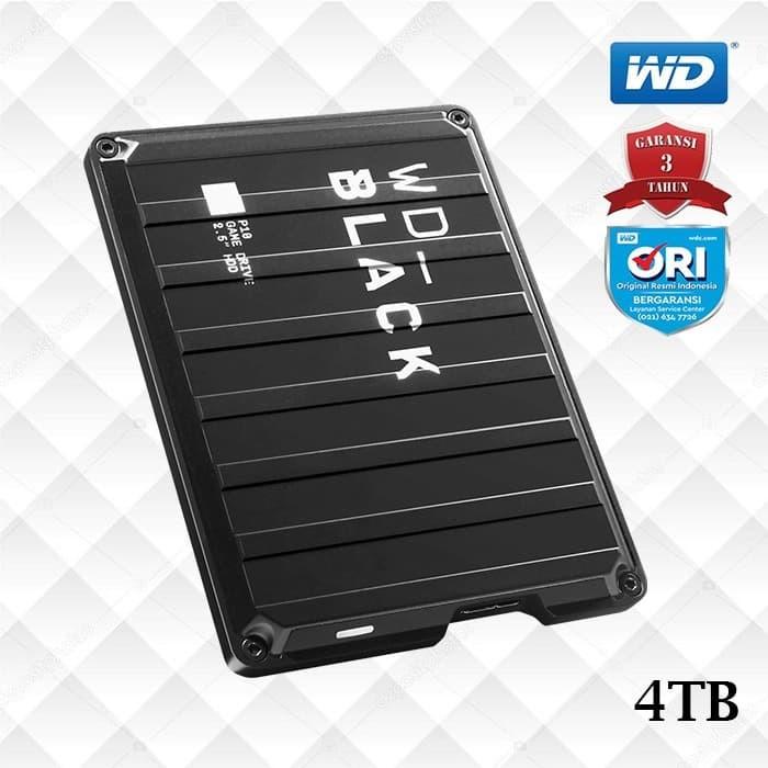 Foto Produk Promo WD Black P10 4TB Game Drive - Hardisk Eksternal Gaming dari WD Official Store