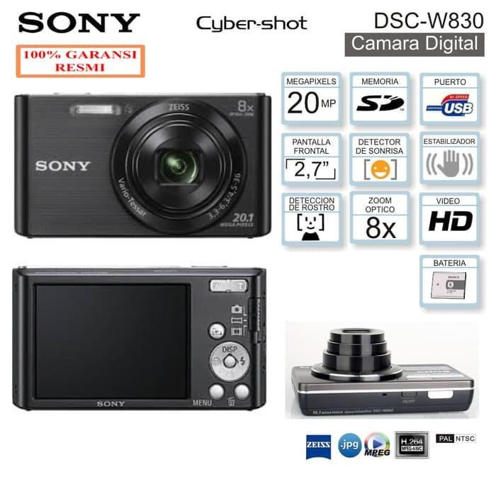 Foto Produk Sony Dsc-W830 - Hitam dari Multi Electronic