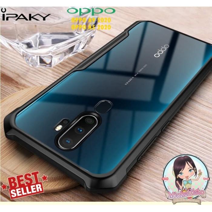 Foto Produk iPaky Case Oppo A9 2020 A5 2020 Armor Bumper Transparent Clear dari Michellisto