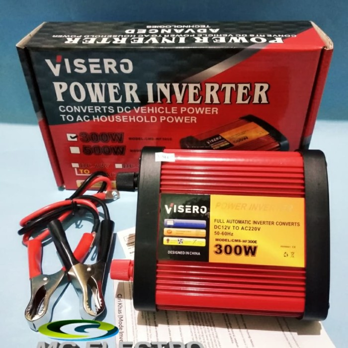 Jual Power Inverter 300watt 12v With Usb Port Red Bagus Berkualitas Jakarta Pusat Mg Elektro Tokopedia