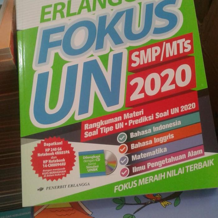 Kunci Jawaban Fokus Un Erlangga 2020 Smp Ipa Paket 2 Ilmusosial Id