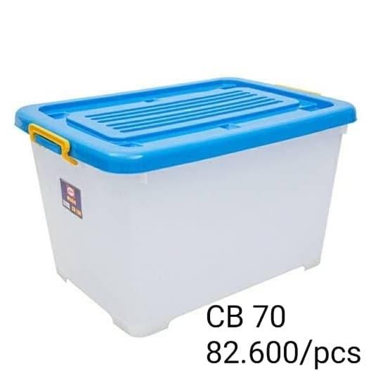 Foto Produk REAL Container Box 70 Liter CB 70 dari raja_plastik