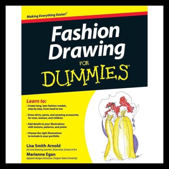 jual buku fashion illustration cara menggambar fashion 1 paket jakarta barat farhinshoop tokopedia