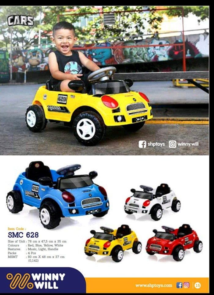 Jual Mainan Mobil Dorong Smc 628 Bisa Dinaiki Anak2 Kota Bandung Kamila Galery Tokopedia