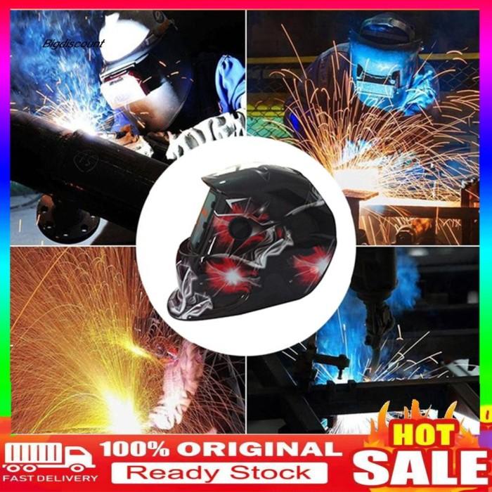 Jual Gwj Welding Helmet Mask Solar Auto Darkening Shield Welder Head Jakarta Barat Arsiha Shop Tokopedia