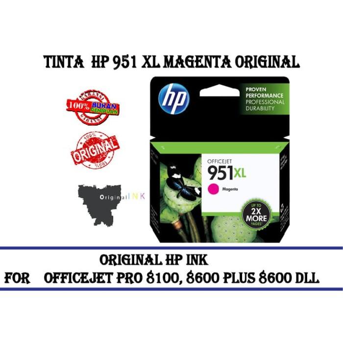 harga Tinta catridge hp 951 xl colour magenta original Tokopedia.com