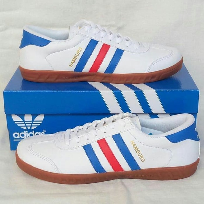 Jual Sepatu Adidas Hamburg Sepatu Sport Sneaker Pria White France