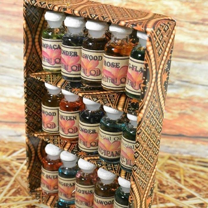 Foto Produk Paket Essential Oil Aromatherapi Aromatherapy Humidifier isi 15 botol dari Solo Micro