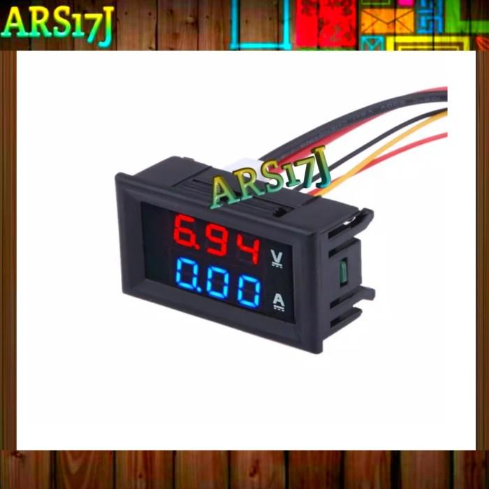 Foto Produk Voltmeter / Ammeter Panel LED Digital DC 100V 10A dari ARS17J