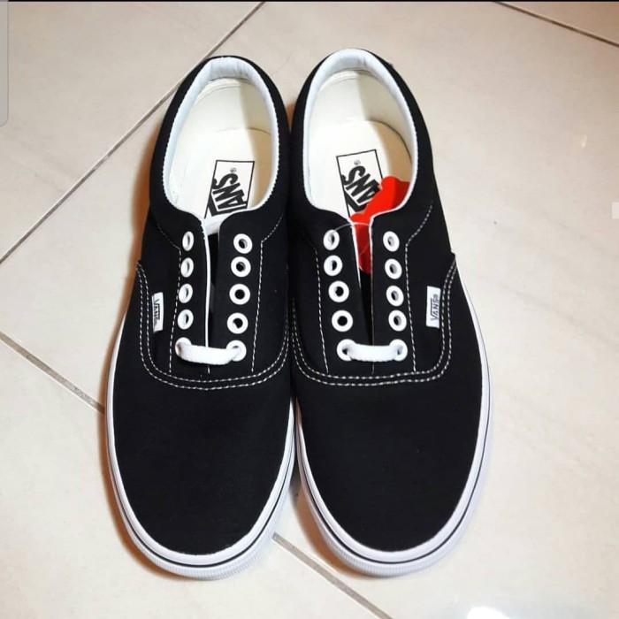 Jual Vans Era Black and White - Kota
