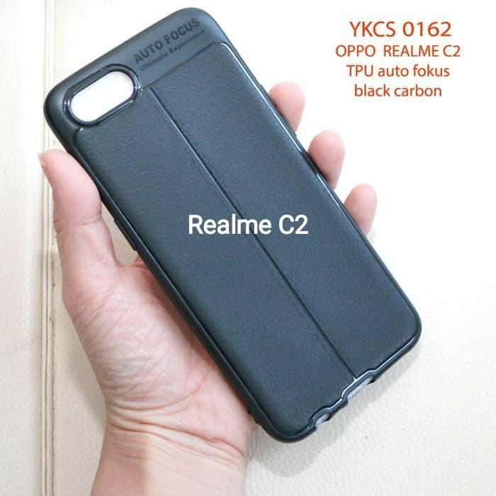 Foto Produk Case Autofokus Opo Oppo Realme C2 - Softcase Auto fokus Kulit Jeruk dari Hepi Aksesories