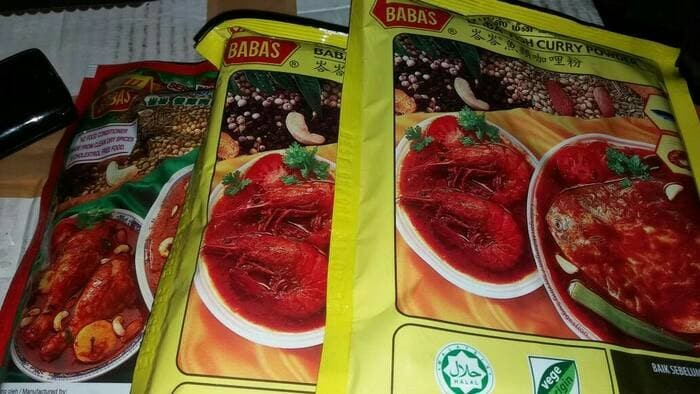 Foto Produk BABAS FISH High Class CURRY POWDER 250gr dari darilynn