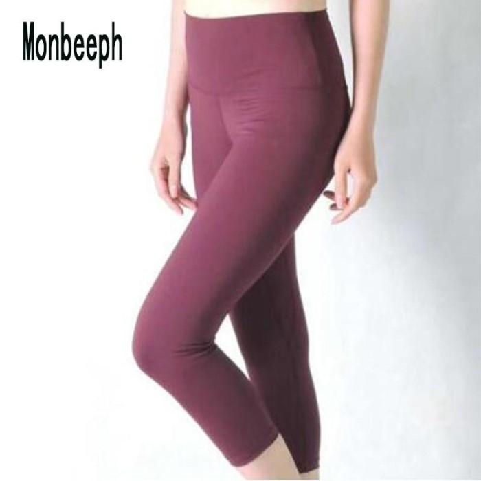 Jual Legging Wanita 3 4 Celana Ketat Wanita Tersedia Aneka Warna Kota Surabaya Import Ant Store Tokopedia