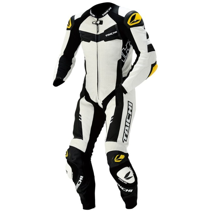 Foto Produk RSTAICHI Taichi NXL305 | GP-WRX R305 LEATHER Racing SUIT - White - M dari Helm Cargloss