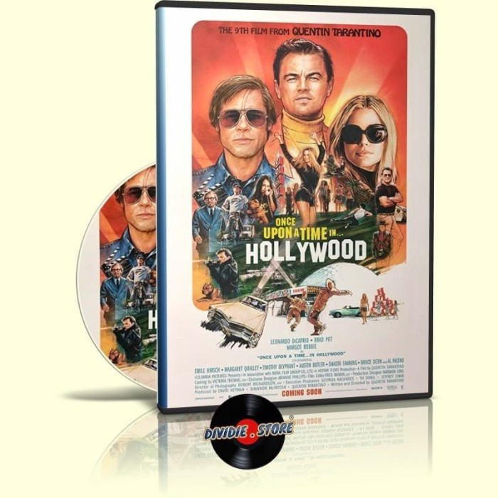 Jual Dvd Hollywood Once Upon A Time In Hollywood 2019 Hd Kab Deli Serdang Dividie Store Tokopedia