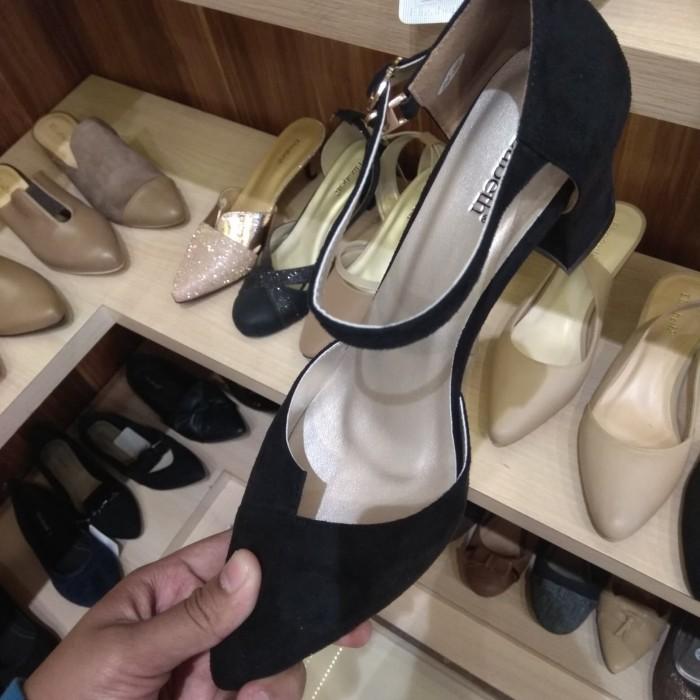Jual Sepatu Elizabeth 10 Hitam Kota Tangerang Rismaw28