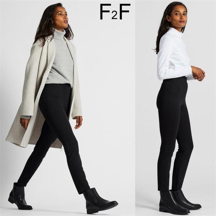 Jual Celana Legging Winter Wanita Branded F F Original Sisa Ekspor Black Hitam S Kota Bandung Mode Republic More Tokopedia