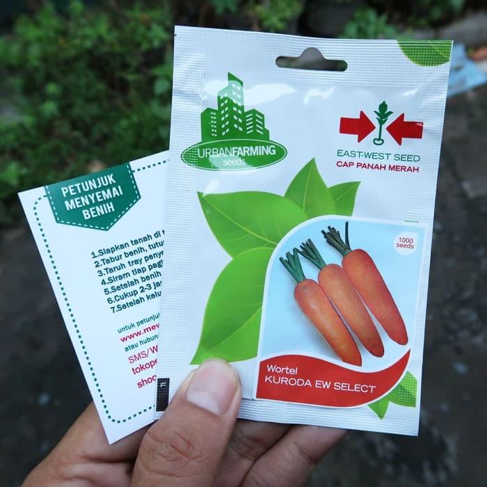 Foto Produk Wortel Kuroda 1000biji Panah Merah dari mewalik-jaya