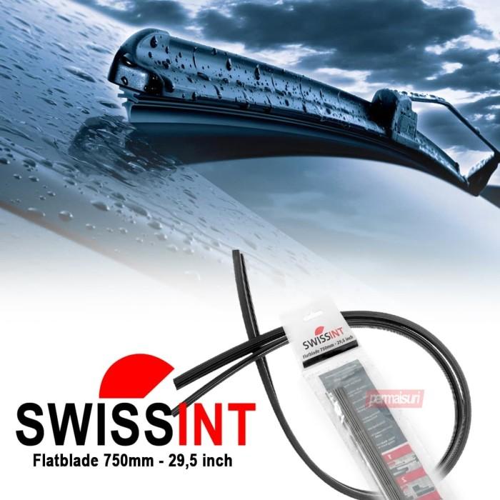 "Foto Produk SWISSINT WIPERBLADE AT750 FLATEBLADE / BANANA REFILL AT-750mm - 29.5"" dari PERMAISURI"