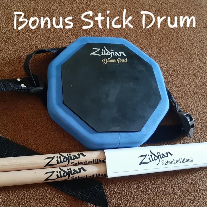 harga Drum pad 6 inc merk aspn bisa diikat dipaha (bonus stick drum) Tokopedia.com