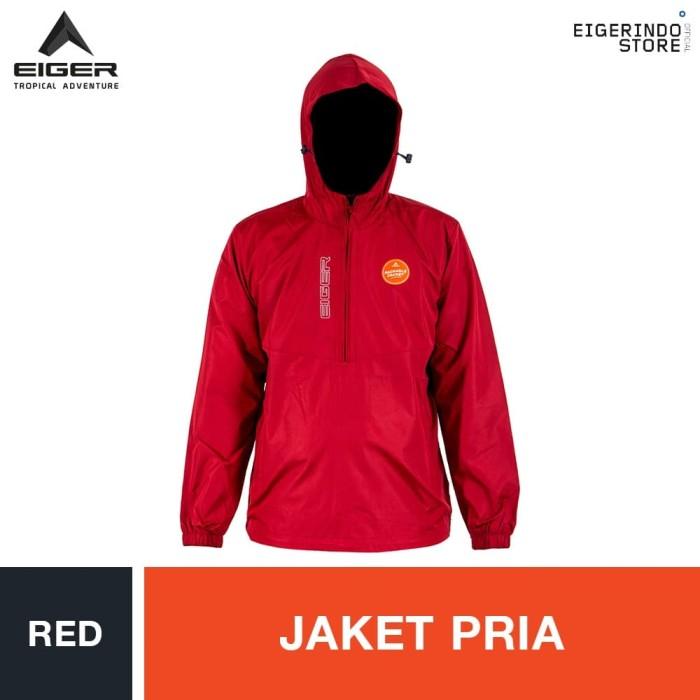 Foto Produk Eiger Shooter Windproof Jacket - Red - Merah, XL dari Eigerindo Store