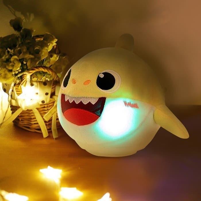 Foto Produk Baby shark singing Dancing Recording doll PINKFONG - Merah Muda dari Happy Fun Olshop
