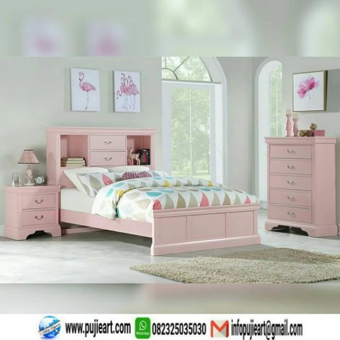 Jual Set Kamar Anak Cewe Warna Pink Kamar Set Anak Perempuan Kab Jepara Pujieart Tokopedia