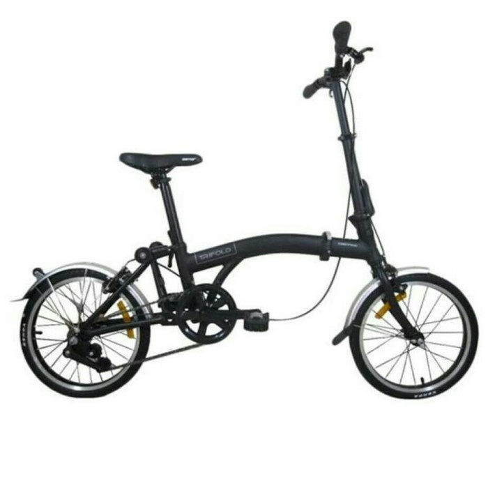 Jual Sepeda lipat United Trifold 3 speed folding bike 3s