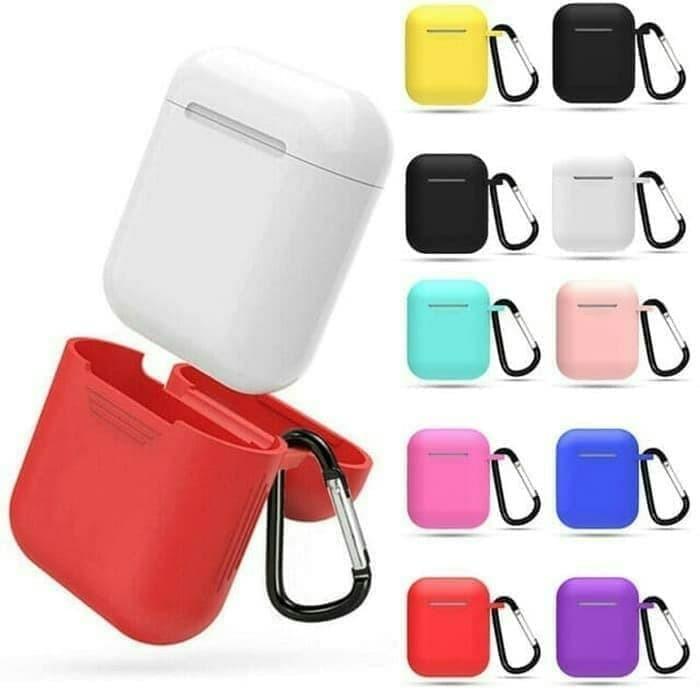 Foto Produk Apple Airpods Gen 2 Premium Silicone Case Casing Cover Sarung Airpod dari Masnoto O-Store