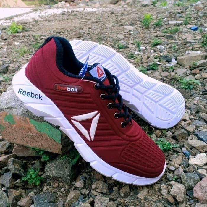 Foto Produk sepatu pria olahraga Termurah - Merah, 39 dari L Sport
