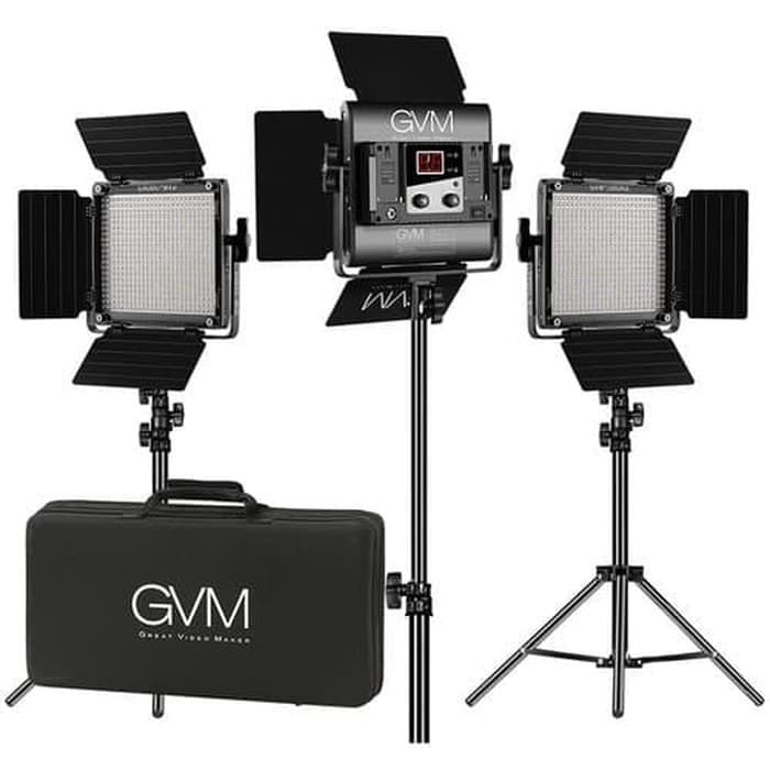 Jual Gvm 560as B3l Led Video Light Paket Lampu Shooting Photo Produk Makeup Jakarta Barat Zona Camera Tokopedia