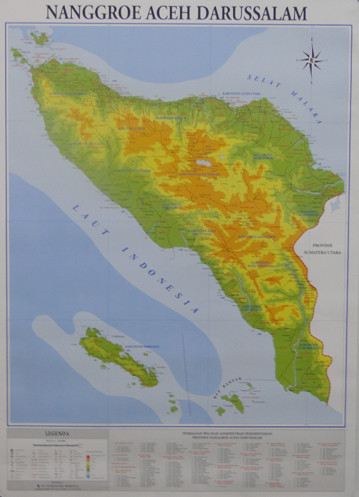 Jual Buku Murah Peta Provinsi Nanggroe Aceh Darussalam Lipat Jakarta Selatan Nugrahasinaga Tokopedia