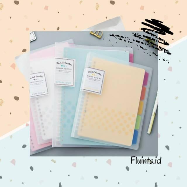 Foto Produk Kokuyo Pastel Cookie Binder Note dari Fika store069