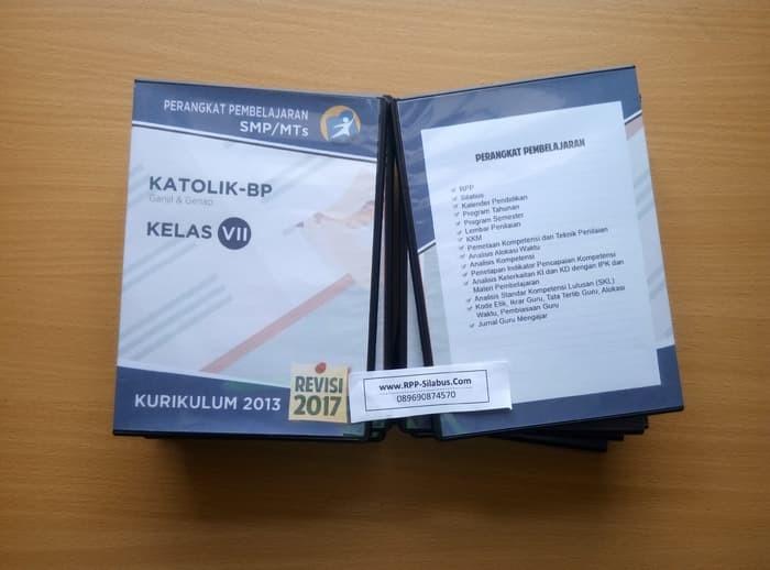 Jual Buku Murah Rpp Katolik Bp Smp Kelas 7 Kurikulum 2013 Revisi 2017 Jakarta Selatan Koko Dongoran Tokopedia