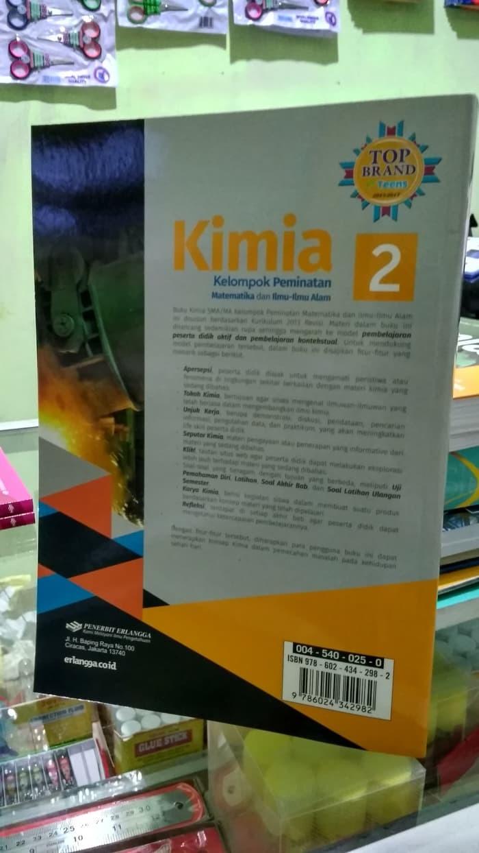 Jual Buku SMA Kelas 2 BEST SELLER KIMIA 2 UNTUK SMA MA KELAS XI K13N Jakarta Barat Kani Putra