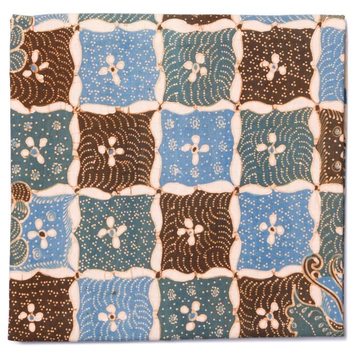 Foto Produk Kain Batik Tulis Warna Alam Ciwaringin Motif Kotak Melati dari Kainusa
