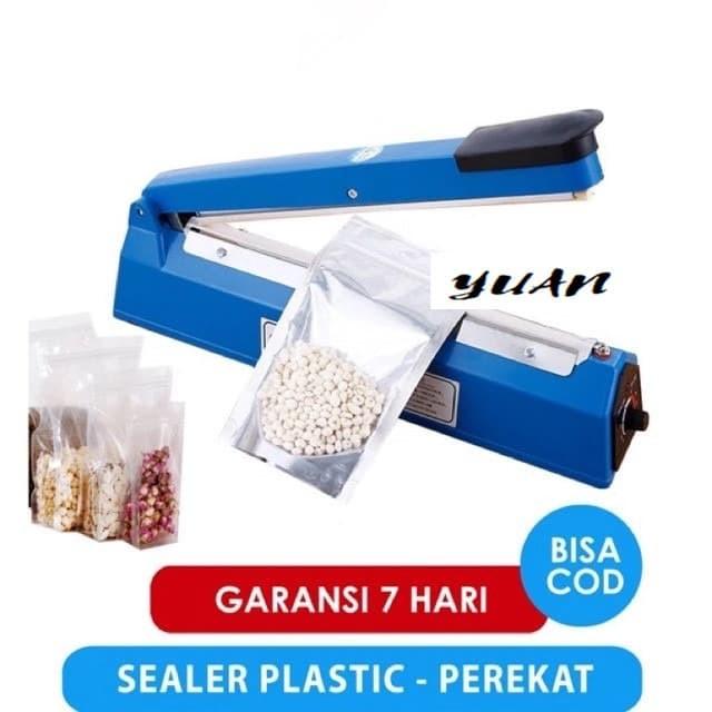 Foto Produk Alat Press / Press Plastik PP / Impulse Sealer - 200mm dari Yuan Mart