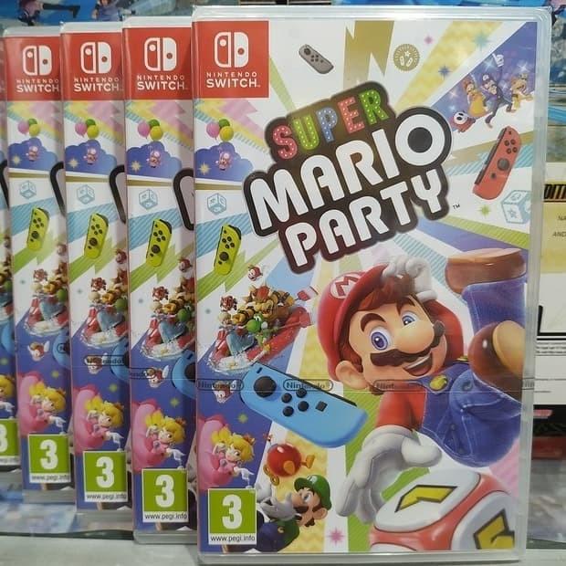 Jual Super Mario Party Switch Jakarta Pusat Nusantara Game Tokopedia