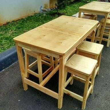 Jual Meja Makan Ala Cafe Kab Bogor Tb Hong Jaya Sentul Tokopedia