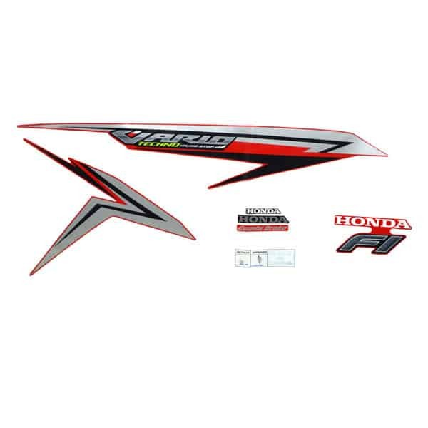 Foto Produk Sticker Body Kiri (Stripe Set R Red) - New Vario 125 eSP K60 dari Honda Cengkareng