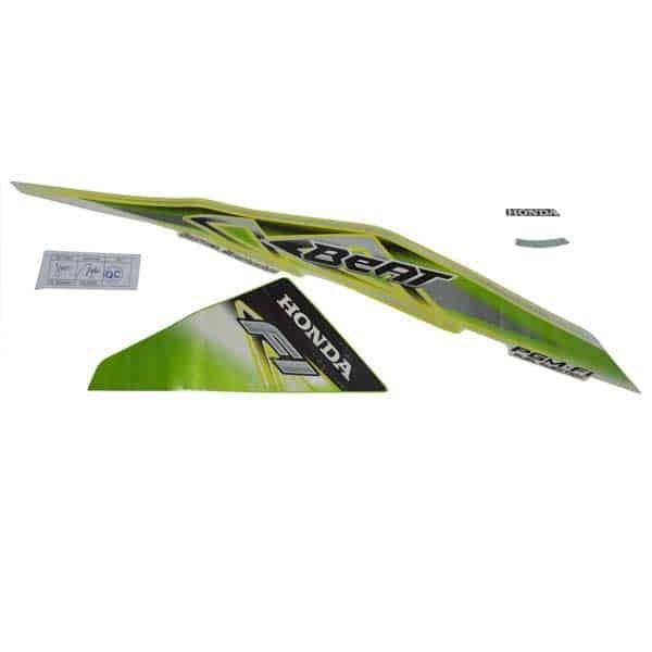 Foto Produk Sticker Body Kanan (Stripe Green White R) - BeAT FI (K25) dari Honda Cengkareng